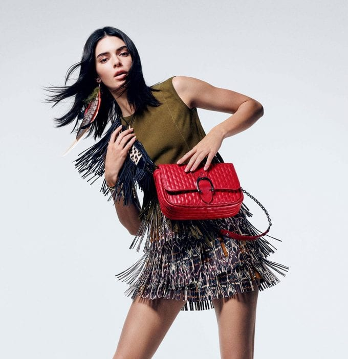 Kendall Jenner returns for latest Longchamp campaign