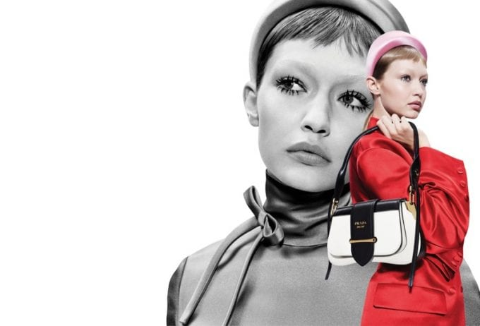 Prada turns back time in new 60s inspired campaign