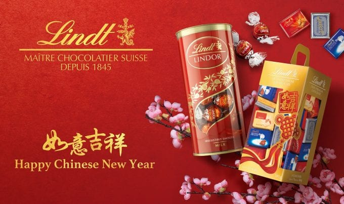 LINDT reveals Chinese New Year sweet gifts for travellers