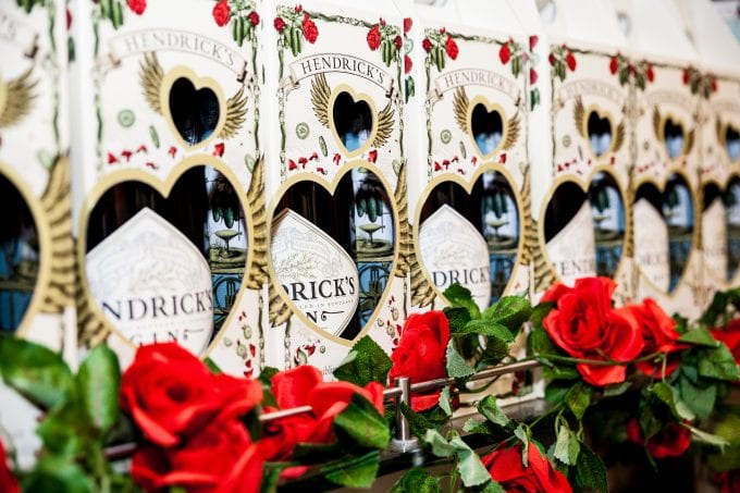 Hendrick's and Love: A Rose Story blooms in duty free