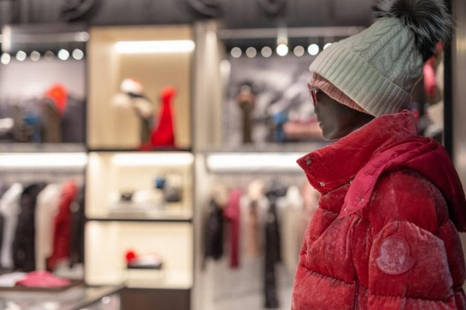 Moncler makes chic debut at Vancouver International Airport