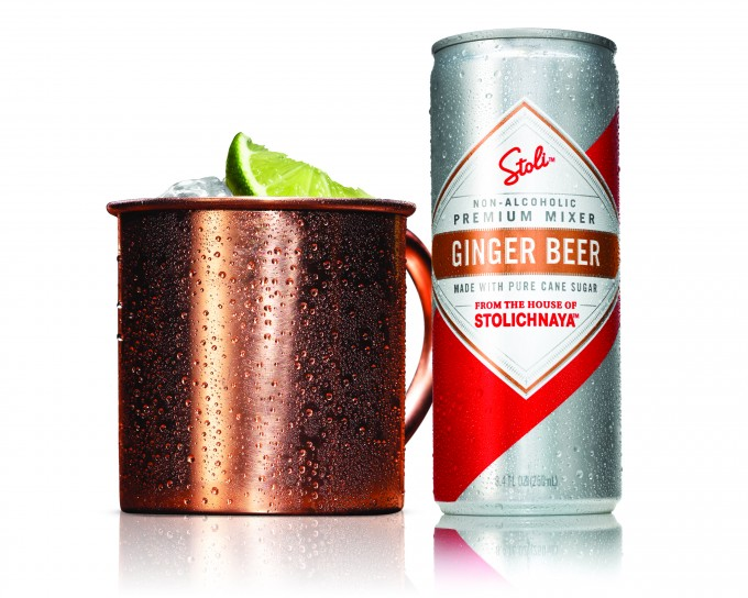 Stoli celebrates the legendary Moscow Mule Cocktail with New Stoli Ginger Beer