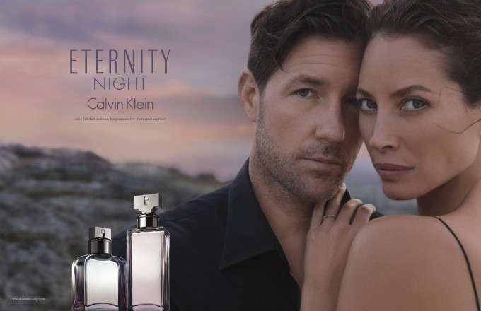 Turlington returns to her Night job for Calvin Klein