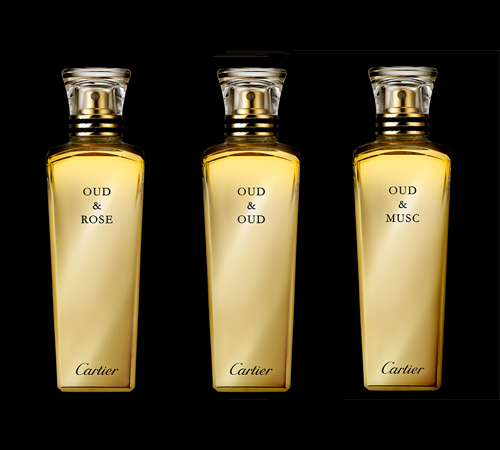 Cartier launches trio of new perfumes