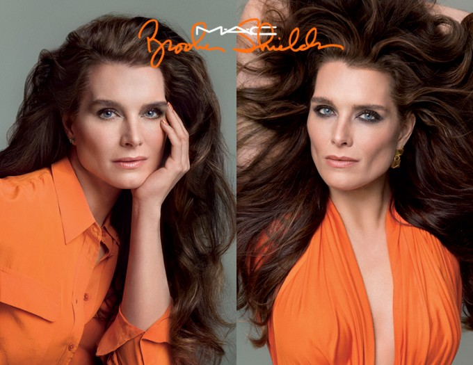 First look: Brooke Shields MAC collection