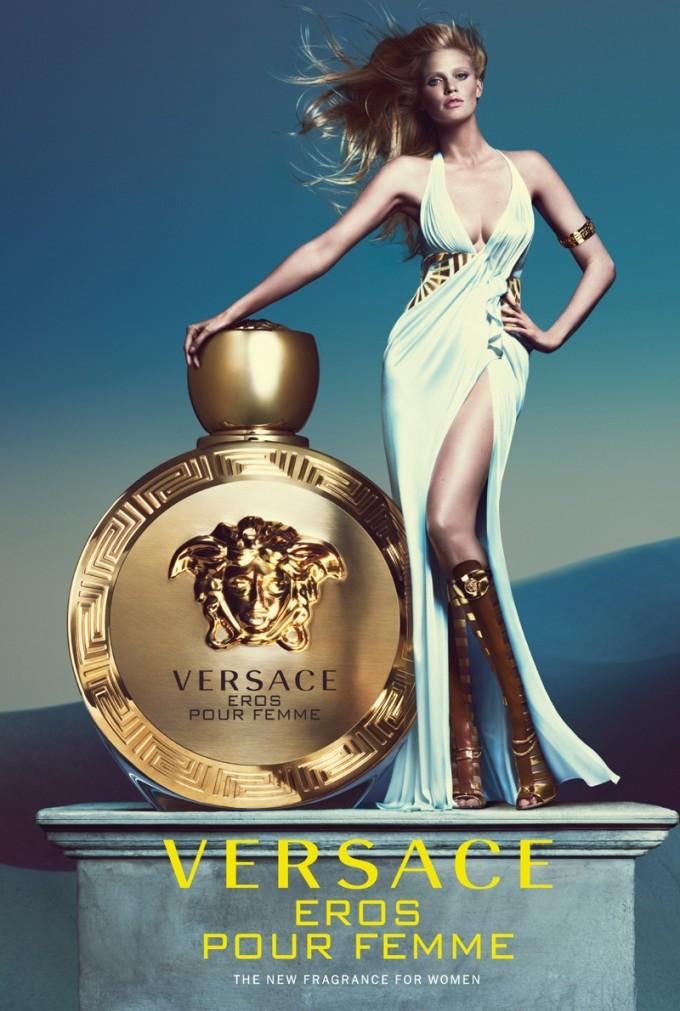 Versace unrobes Eros Pour Femme
