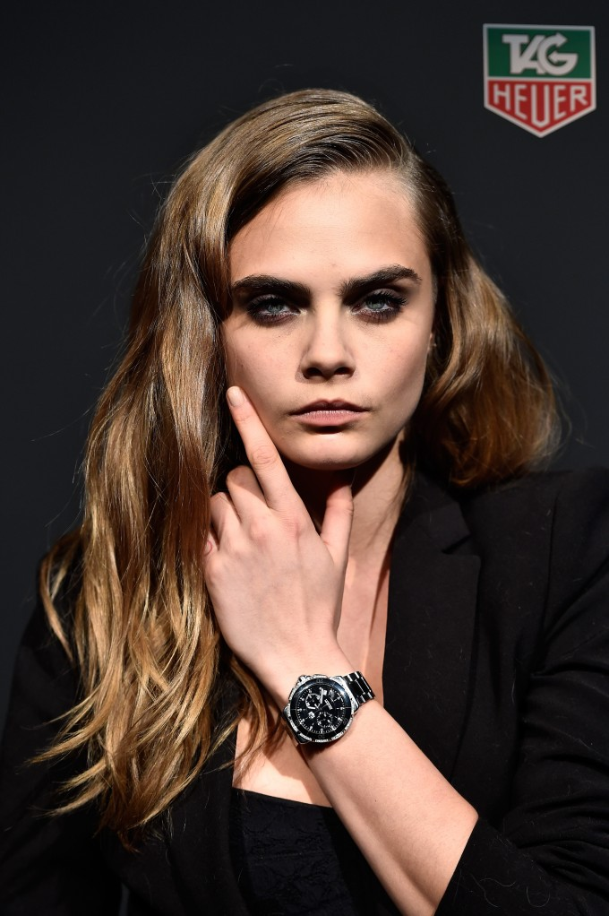 TAG Heuer wants It-ness with Cara