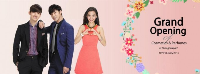 Shilla officially opens at Changi ; TVXQ & Angelababy on hand