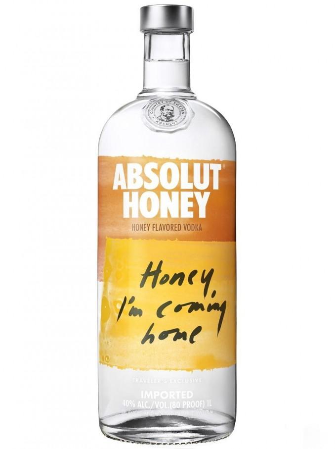 Absolut Honey debuts at Singapore Changi duty free
