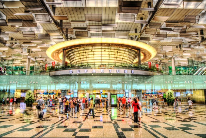 And the world's best airport is…
