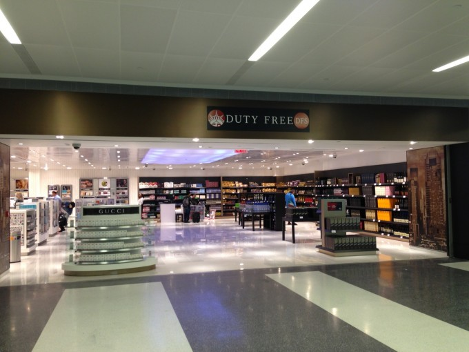 New York JFK Airport Duty Free