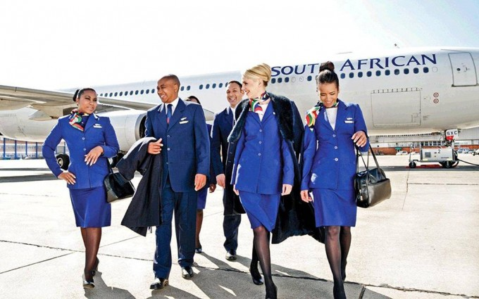 South African Airways – duty free shopping