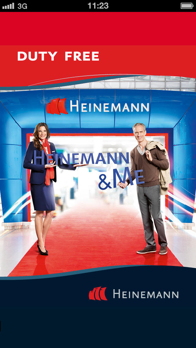 Heinemann introduces new duty free shopping App