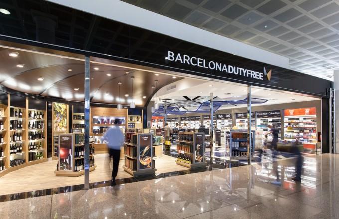Barcelona El Prat Airport Duty Free