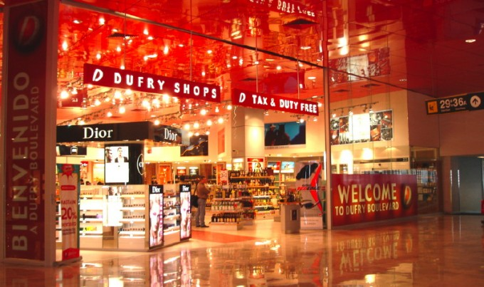 Mexico City Airport Duty Free