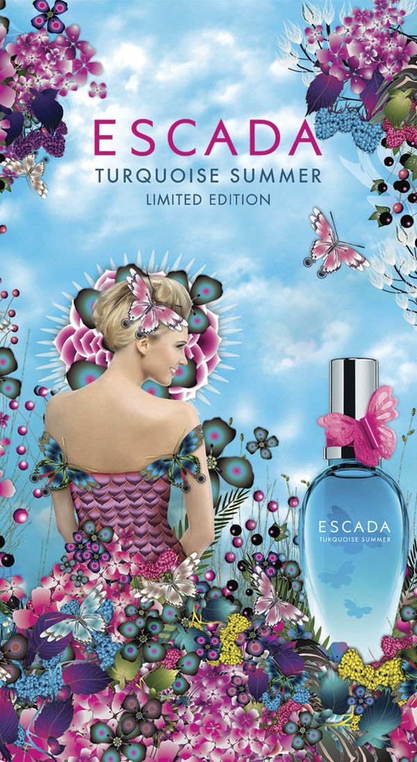 Escada launches Turquoise Summer in duty free