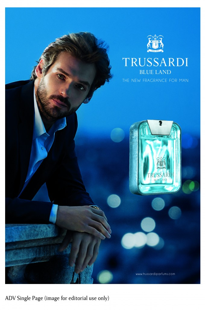 Trussardi introduces Blue Land – new spring fragrance for men