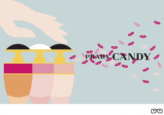 Prada Candy Kiss – The bitesize perfume