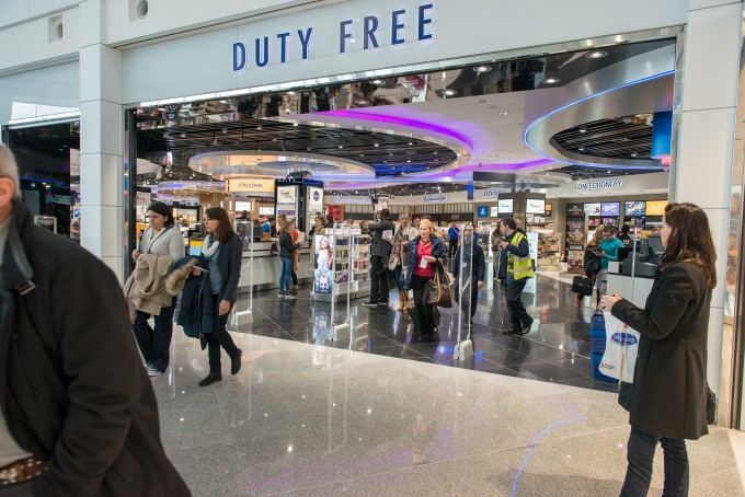 Brussels Airport Connects; new walk-through duty free & luxury shopping