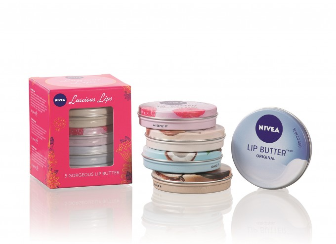 Nivea flies with exclusive sets for airlines