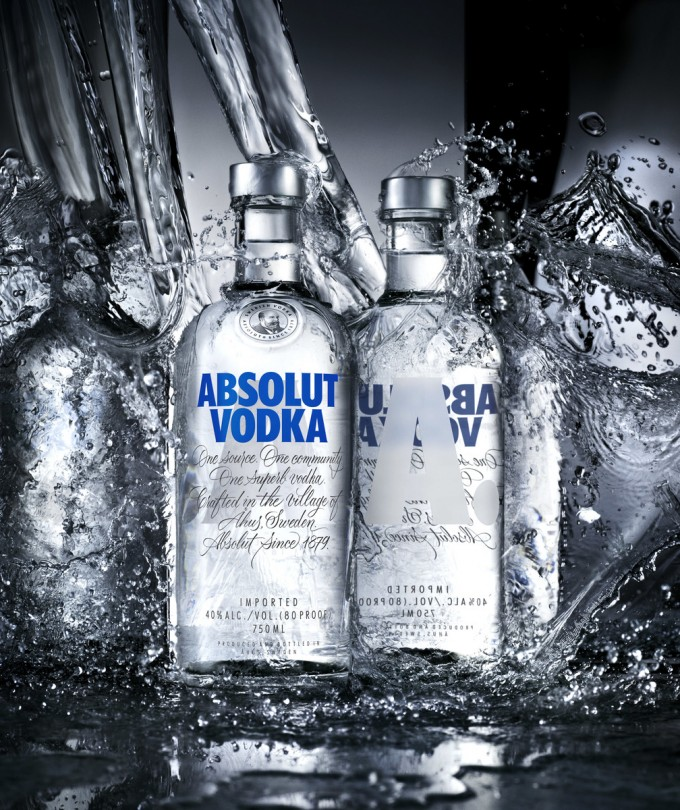Did Absolut really just redesign their famous bottle?