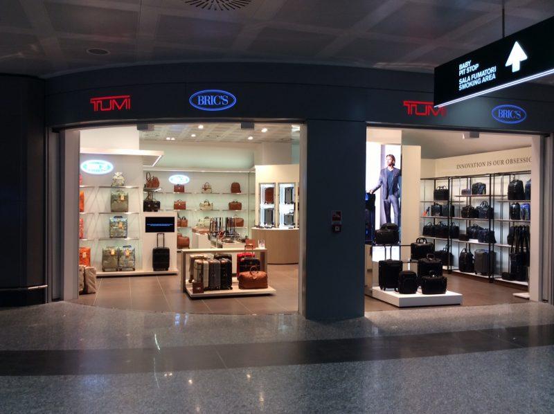 Sala Fumatori Malpensa : Bric s opens at milan malpensa airport duty free hunter duty