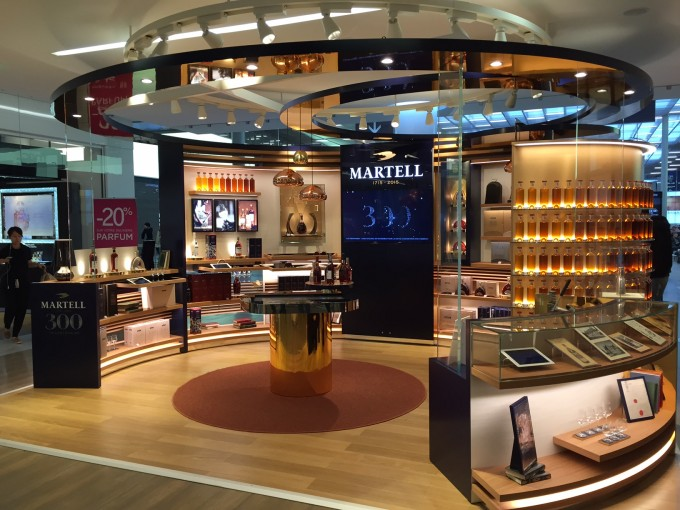 Martell Cognac celebrates 300 at Charles de Gaulle