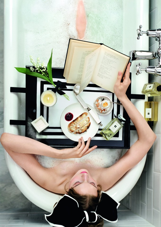 Bathtime with Jo Malone
