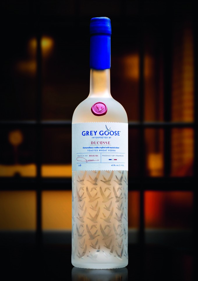 FIRST LOOK: Grey Goose Interpreted by Ducasse; Exclusive launch at Paris airports