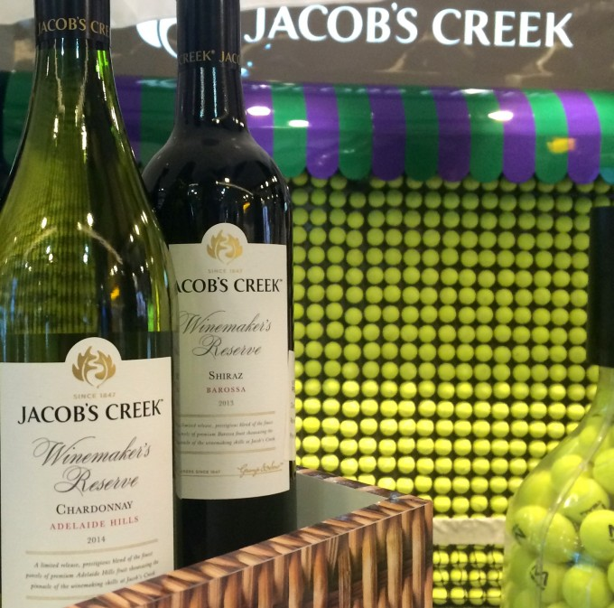 WIN: Jacob's Creek gets tennis fever at London Gatwick