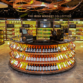 Irish Whiskey takes centre stage at Dublin Airport