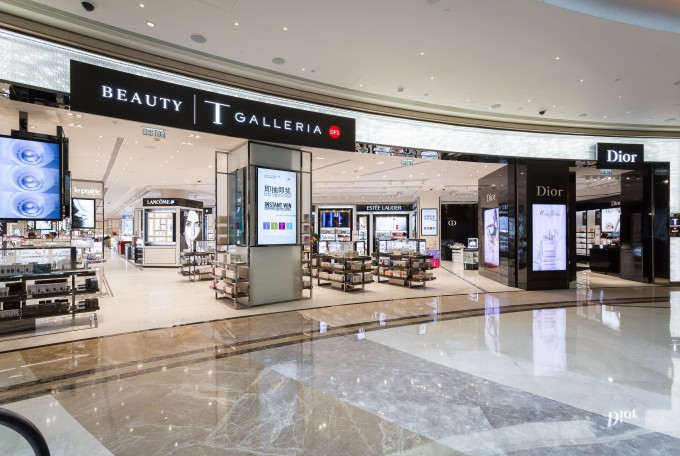 DFS wows with T Galleria Beauty concept stores