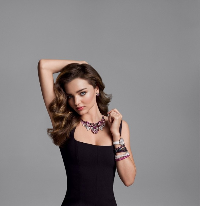 Miranda Kerr lights up new Swarovski campaign