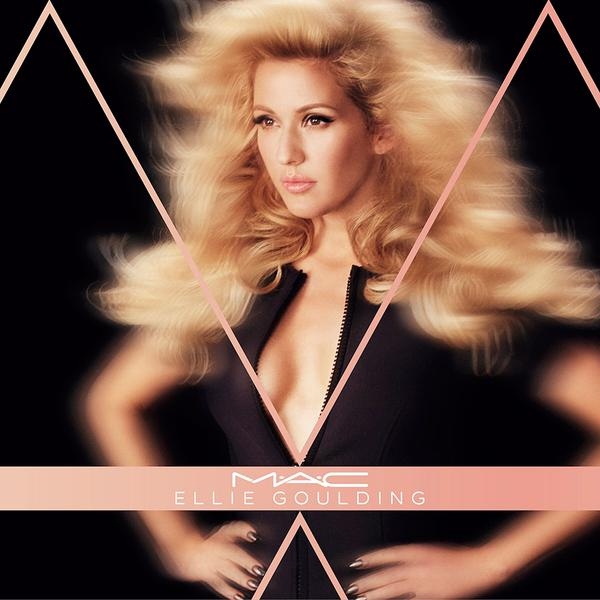 Ellie Goulding is latest MAC superstar