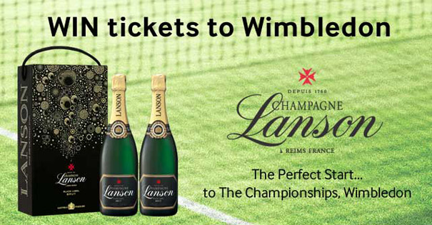 WIN: Tickets to Wimbledon with Lanson & World Duty Free