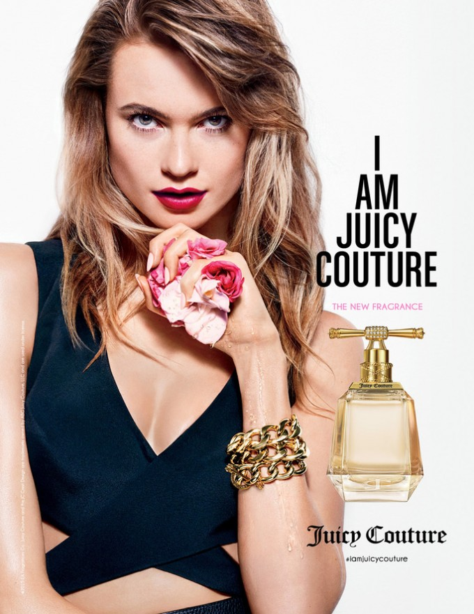 Behati Prinsloo fronts NEW Juicy Couture scent