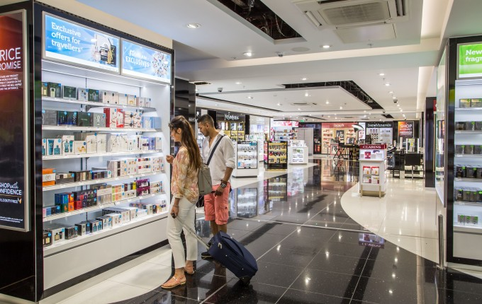 Newcastle Airport launches new walk-though Duty Free store