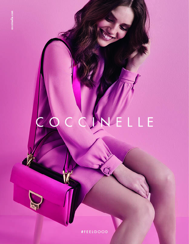 Emily DiDonato stars in Coccinelle #FeelGood campaign
