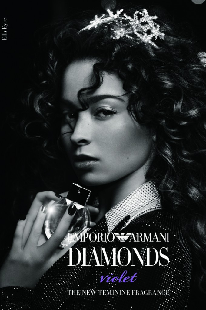 Singer Ella Eyre fronts Emporio Armani Diamonds new fragrance