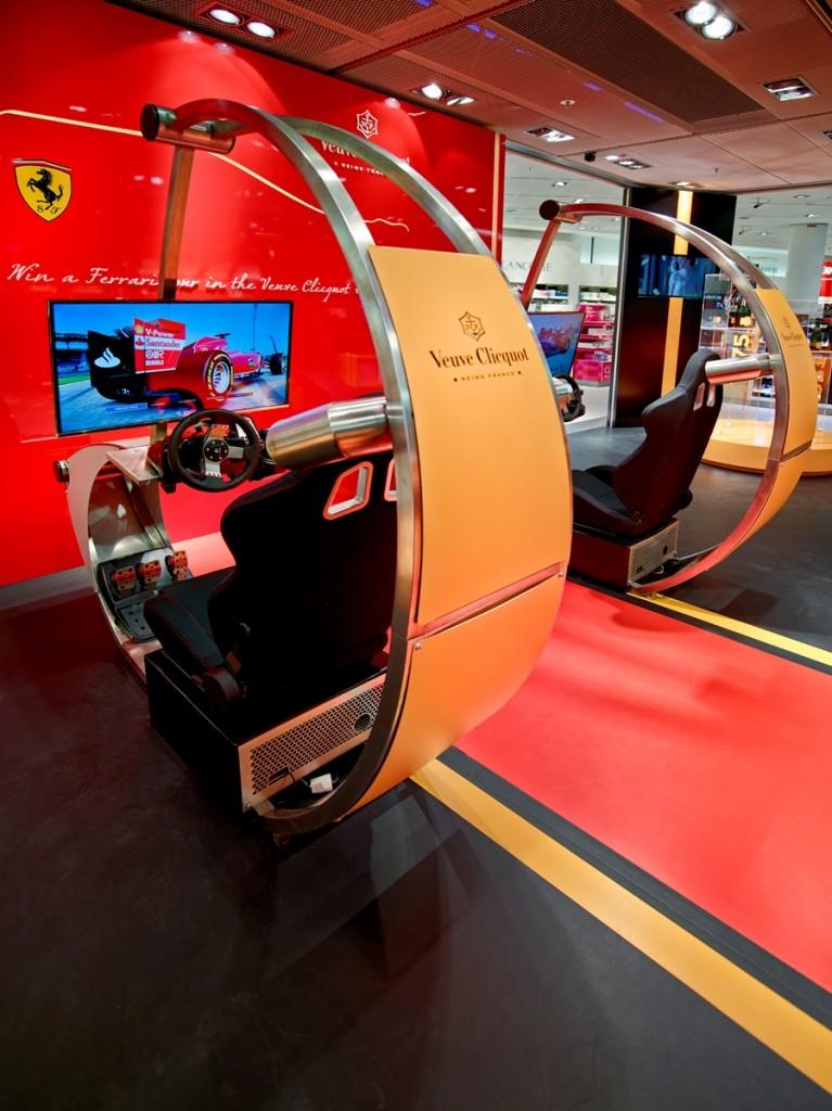 Heinemann Frankfurt Z-Main race simulators