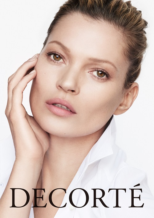 Kate Moss stars for Decorté Skincare as brand plans global push