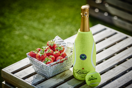 Champagne Lanson aces with Wimbledon Tennis promotions in airports