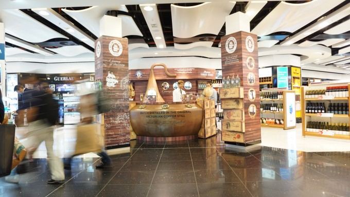Plymouth Gin tells tales in European duty free stores