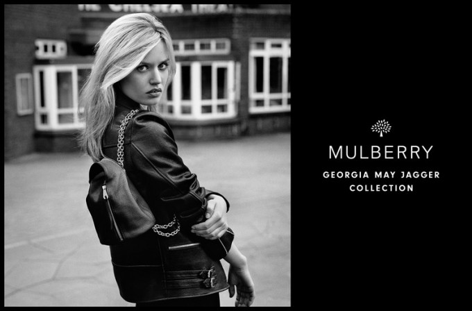 Mulberry reveals a Georgia May Jagger collection is on the way