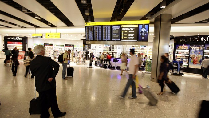 UK airport retailers under pressure as protests over VAT grow