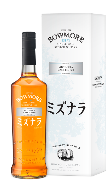 East meets West as Bowmore reveals Mizunara Cask Finish single malt