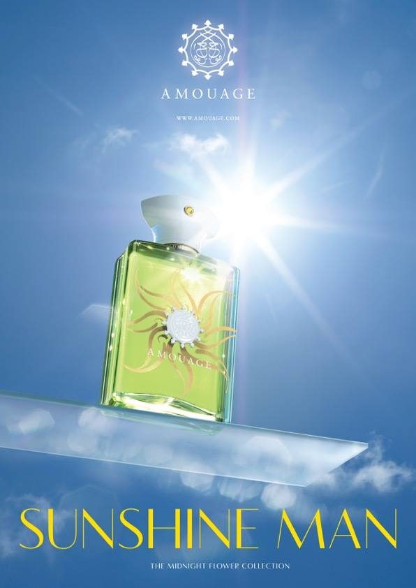 FIRST LOOK: Amouage unveils Sunshine Man fragrance
