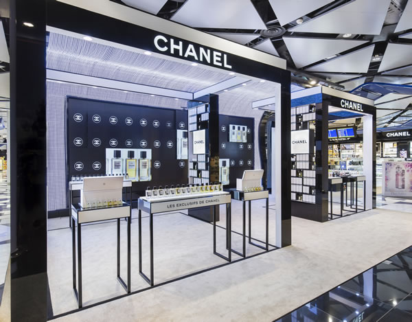 Chanel showcases Les Exclusifs at Barcelona Airport
