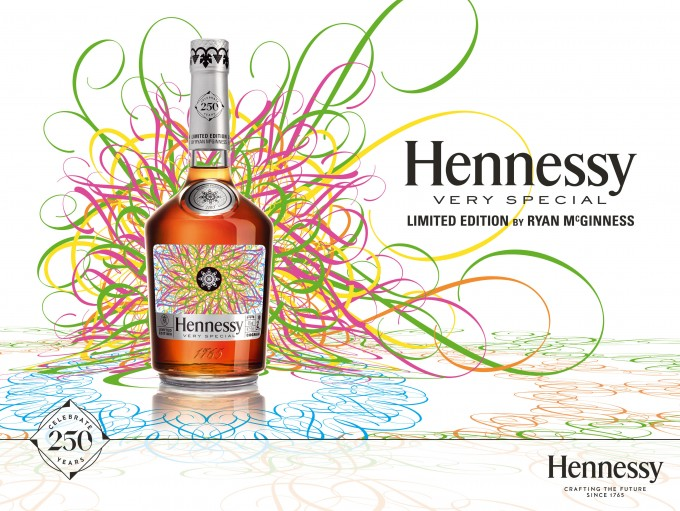 Hennessy reveals VS Limited edition by artist Ryan McGinness