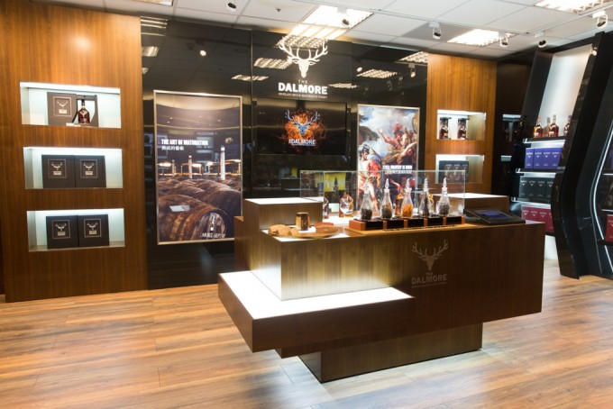 The Dalmore opens luxury flagship store in Taiwan airport